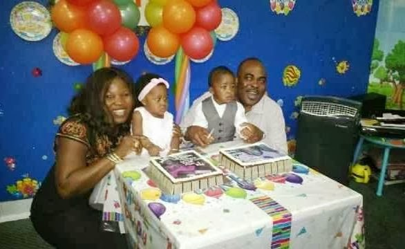 emeka ossai in dubai birthday party
