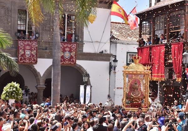 El Obispado aplaza la Bajada de la Virgen de las Nieves hasta 2025