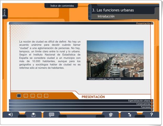 """""""Las funciones urbanas"""" (Secuencia didáctica de 2º de Secundaria)"""