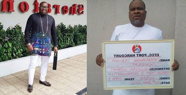 EFCC Arraigns Abia Big Boy And Fraud Kingpin For $8.5million U.S Bank Scam