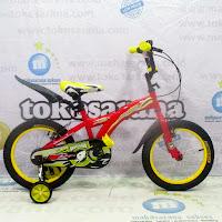 16 wimcycle agressor bmx sepeda anak