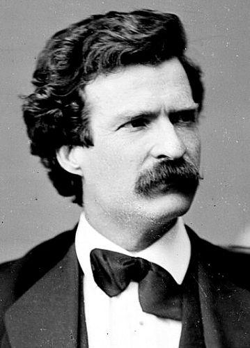 Young Mark Twain in 1871
