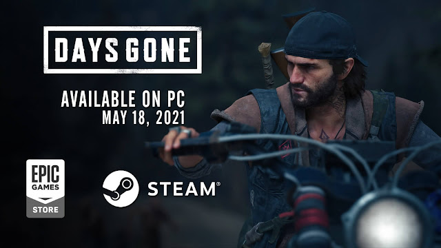 days gone pc release date epic games store steam bend studio playstation mobile sony entertainment action adventure survival horror ps4