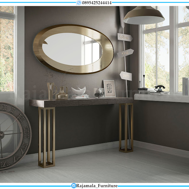 New Desain Meja Konsul Minimalis Stainless Steel Modern Style RM-0414