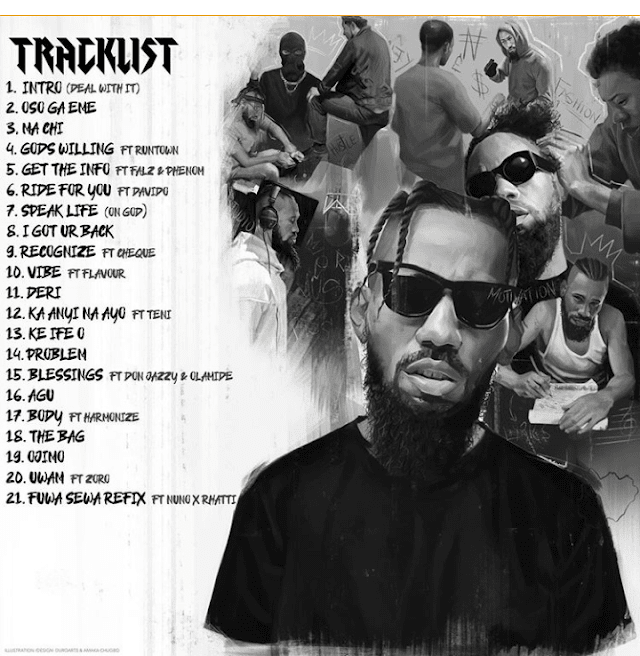 [Album] Phyno - Deal With It (zip files)
