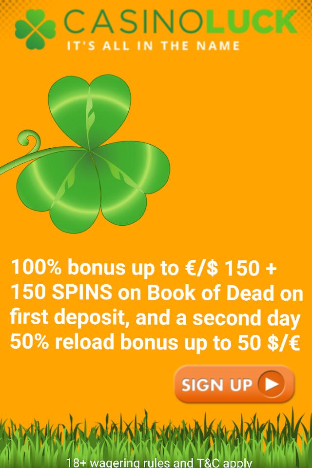Deposit Bonus - CasinoLuck