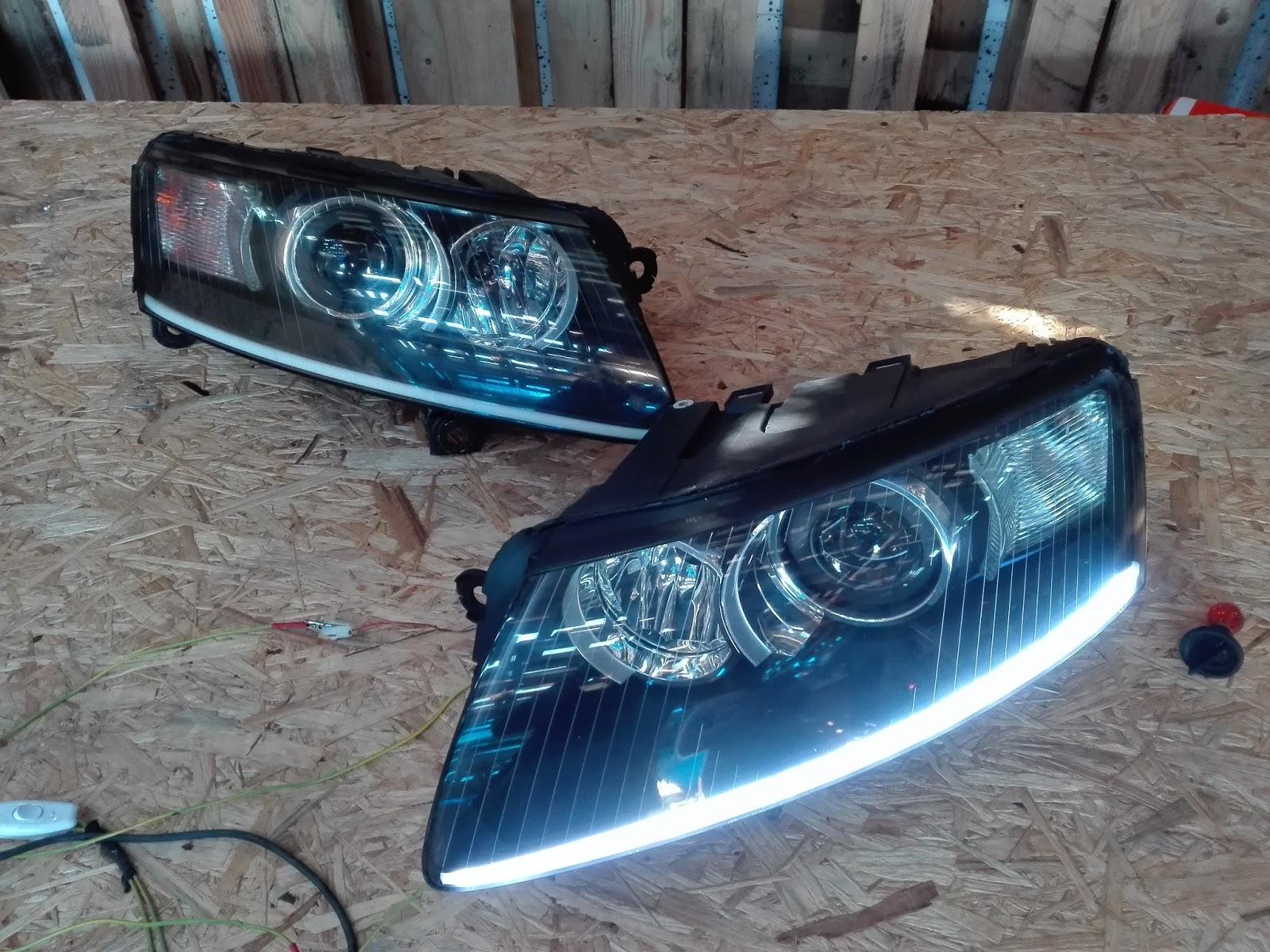 Naprawa świateł Samochodowych Audi A6 C6 Lampy Depo A