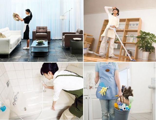 giúp việc nhà theo giờ bình định