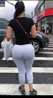 Curvilinea mujer calzas pegadas