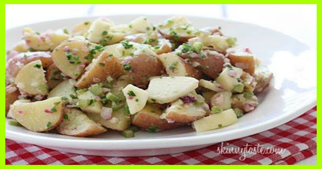 Summer Potato Salad with Apples and Chives Smart Points: 3 - weight ...