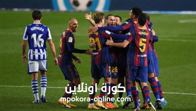 يتعثر برشلونة امام فالنسيا اليوم ويهدر ثلاث نقاظ اخرى ليستفيد  منها ريال مدريد
