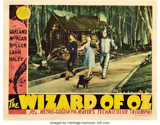 wizard of oz-lobby card- hermosas