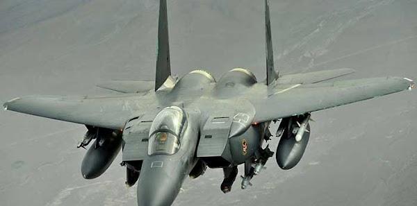 Un avión de combate  se estrella frente a las costas del noreste de Inglaterra