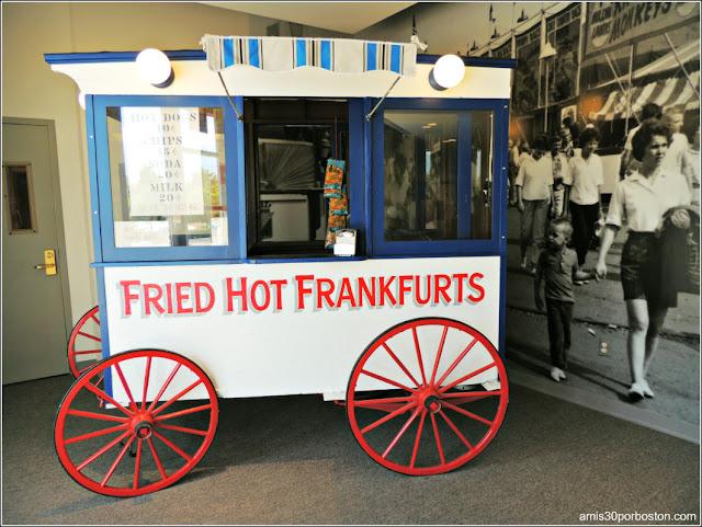 Carrito Hot Dog Museo de Arte Culinario de Providence
