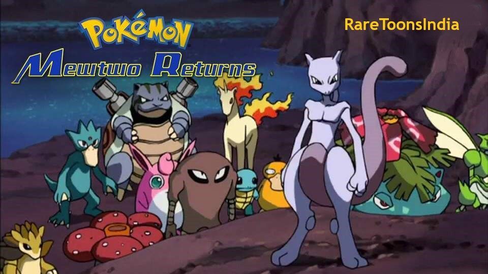 Pokemon Movie 02 Mewto Returns Hindi Dubbed Download 720p Hd
