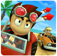 Beach Buggy Racing Mod v1.2.17 Apk Unlimited Coins Terbaru
