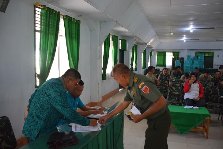 Personel Korem 141/Tp, Balakrem Dan Pns Laksanakan Kegiatan Sensus Penduduk Dari BPS