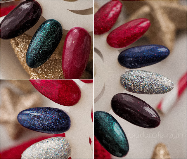 glitterowe lakiery do paznokci