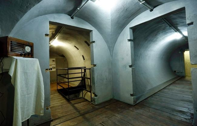 See The Inside Of Mussolini S Air Raid Bunker Photos World News Toronto