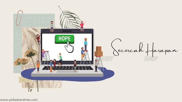 Secercah harapan baru ngeblog ditahun baru