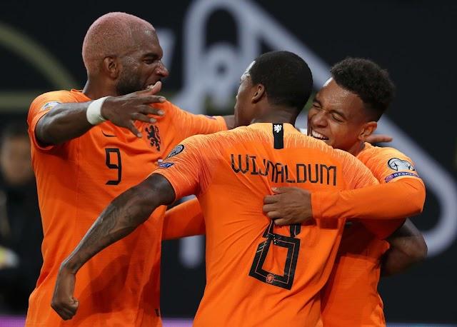 Belanda vs Estonia Kesempatan Pemain Pelapis