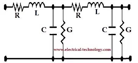 Distributed model of long Transmission line