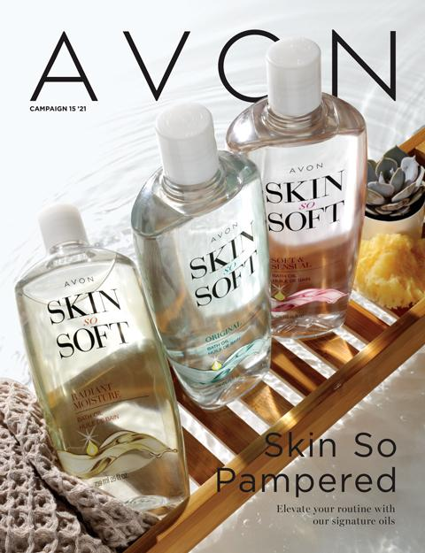 AVON Rare Skin So Pampered!