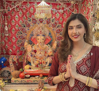 Bappa has always made me strong stood strong and gives me hope to fight back all the situations says, Actress Jyoti Saxena media kesari entertainment news