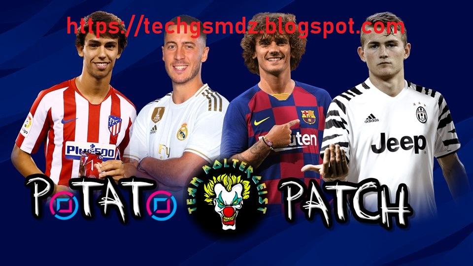 PES 2018 PS3 Potato Patch v8 AIO Season 2020 - TECH Gsm dz