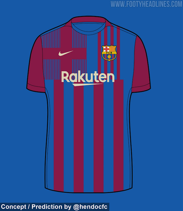 Fc Barcelona 21 22 Home Away Kit Predictions How Probable They Are Footy Headlines