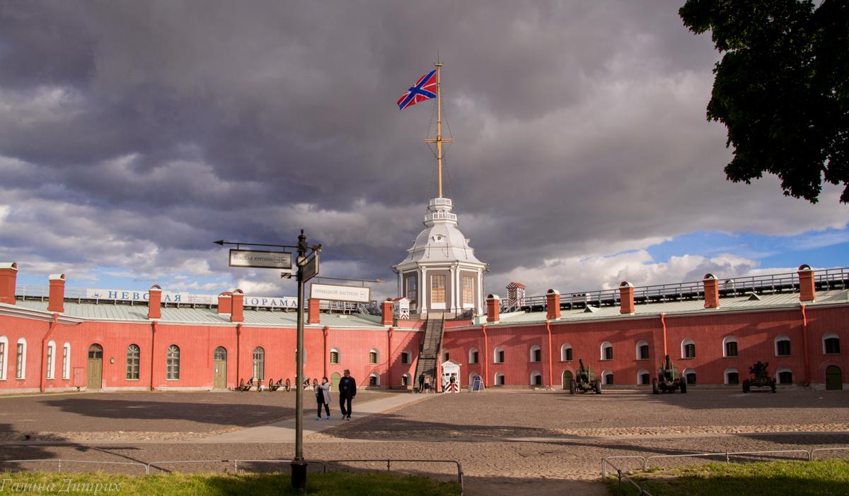 Петропавловская крепость фото