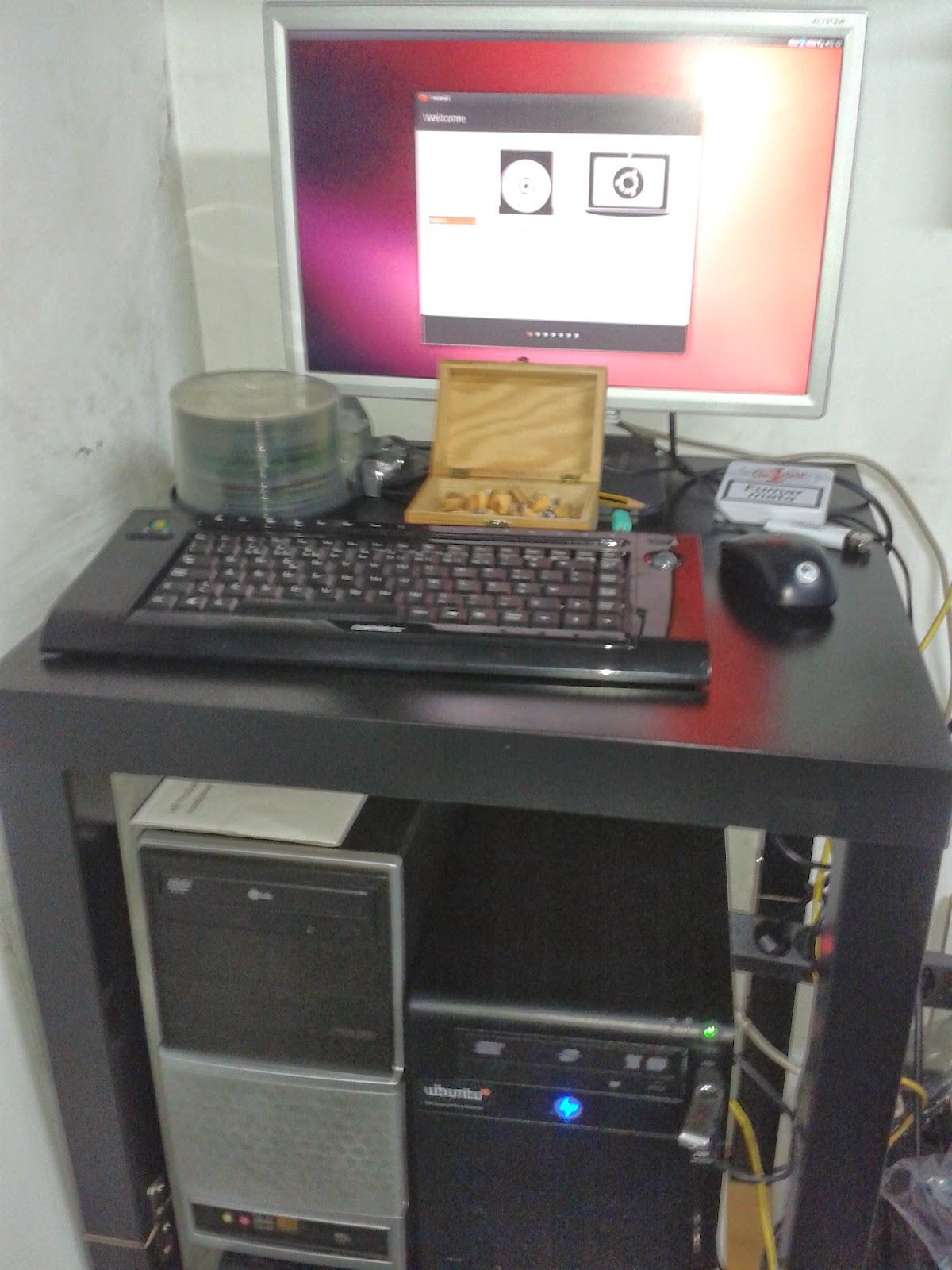 A Minha Casa Digital: Tutorial: Ubuntu Home Server - Parte 1
