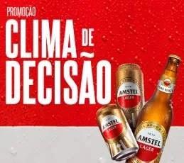 """Cadastrar Promoção Amstel 2019 Ingressos Final Libertadores Chile """"Clima de Decisão"""""""