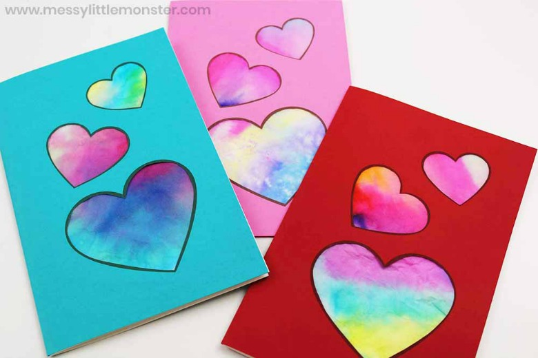 heart craft for preschoolers