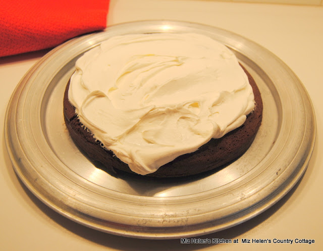 Sour Cream Chocolate Cake at Miz Helen's Country Cottage