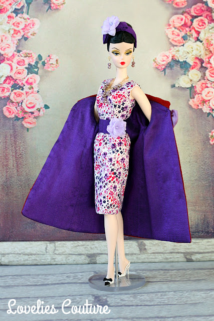 ooak silkstone vintage barbie fashion royalty couture