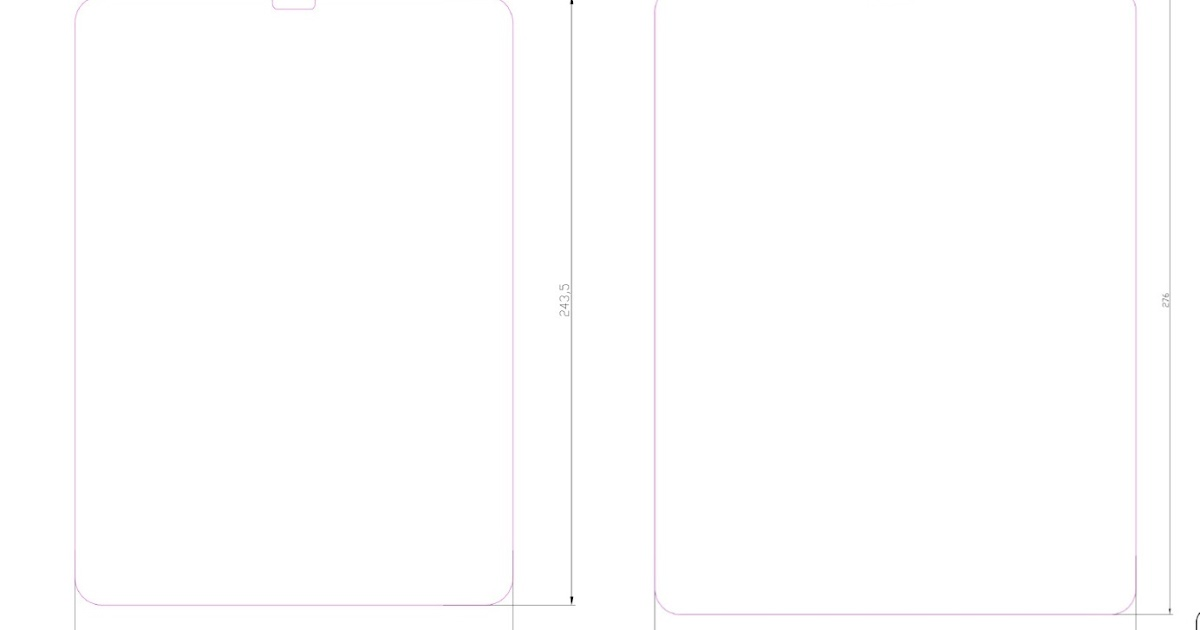 New iPad Pro Size Leaks Allegedly Claims That Apple Will Only Going To Redesign The 12.9-Inch iPad Pro