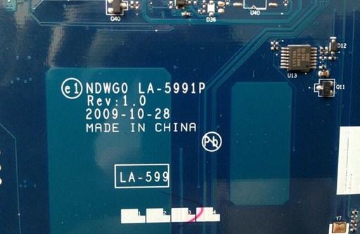 LA-5991p rev 1.0 KBWH0 Acer eMachineachines G630