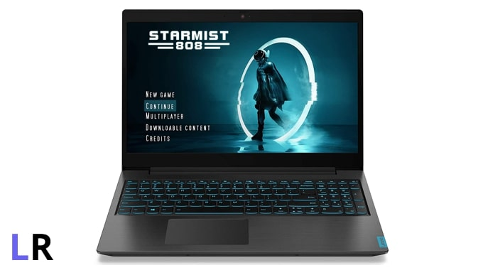 Lenovo IdeaPad L340 gaming laptop under Rs 50K in India. (Image credit: Lenovo)
