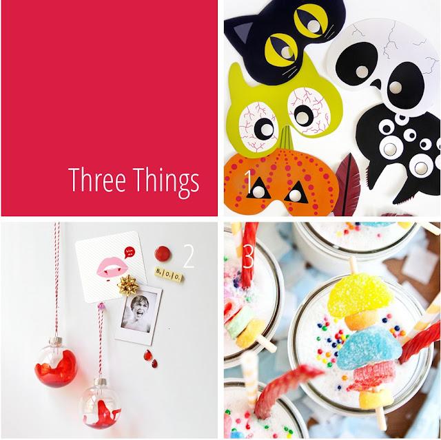 Three Things I Love - Halloween Edition.