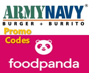 Foodpanda, Army Navy, Promo code
