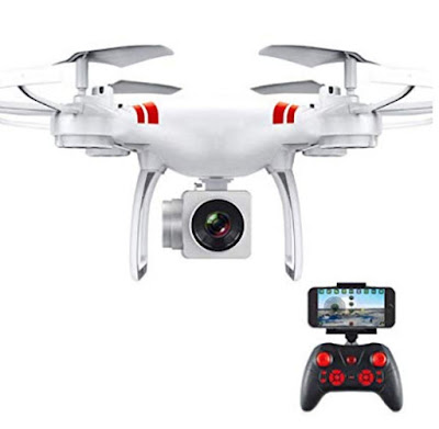 kigins Auto Return Quadcopter Remote Control Helicopter