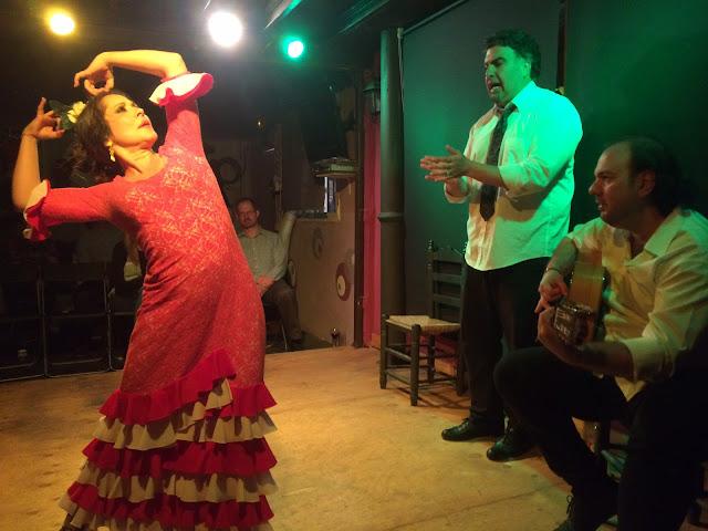 Flamenco em Sevilha, na Andaluzia