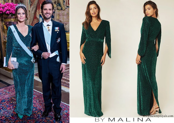 Princess Sofia wore By Malina Carla dress