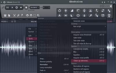 Hilangkan Noise file lagu di Fl studio 12