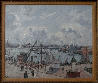 Outer harbour of Le Havre, Camille Pissarro