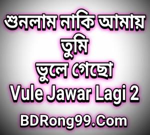 Tore Vule Jawar Lagi 2 (তরে ভুলে যাওয়ার লাগি ২) by Samz Vai | New Song lyrics 2020