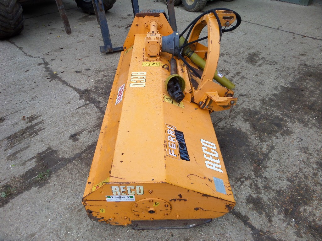 Used Tractors Machinery and Plant RECO FERRI MC210 FLAIL