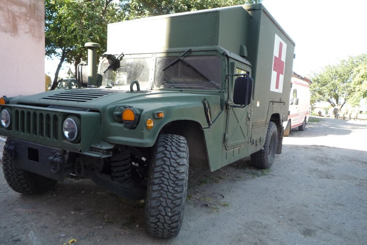 HMMWV M1152 Burtek B4731 БН
