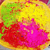 THE FESTIVAL OF COLORS WITH ORGANIC COLORS
